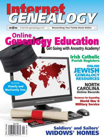 Internet Genealogy issue Oct-Nov 2015