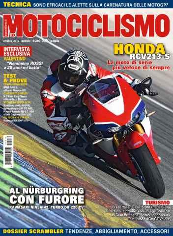 Motociclismo issue Motociclismo 10 2015