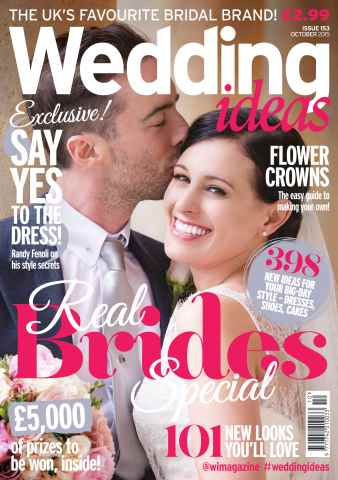 Wedding Ideas magazine issue October 2015