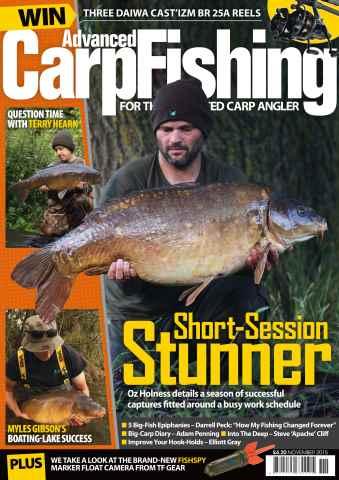 Advanced Carp Fishing issue November 2015