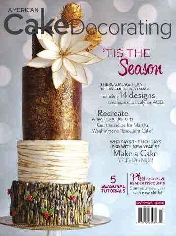 American Cake Decorating issue Nov/Dec 2015