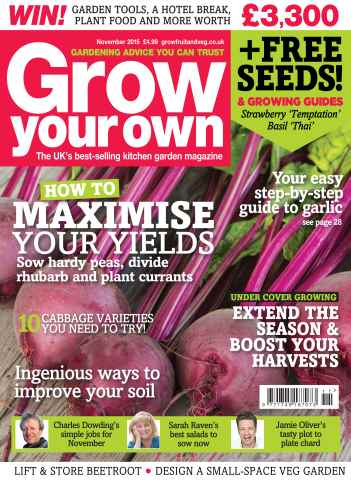 Grow Your Own issue Nov-15