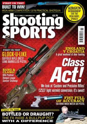Shooting Sports issue Nov-15