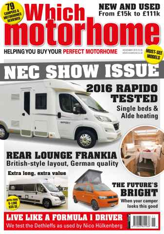 Which Motorhome issue November 2015