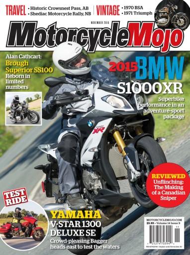 Motorcycle Mojo issue November 2015
