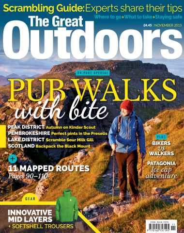 TGO - The Great Outdoors Magazine issue November 2015