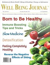 Well Being Journal issue November/December 2015