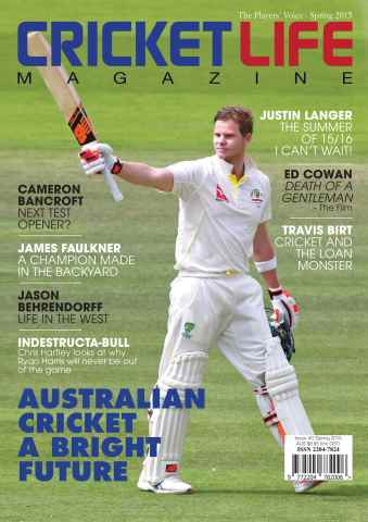 Cricket Life issue Issue #2 Spring 2015