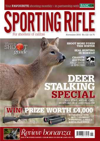 Sporting Rifle issue November 2015