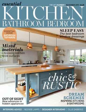 Essential Kitchen Bathroom Bedroom issue November 2015
