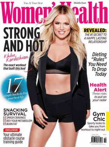 Women's Health Middle East issue OCTOBER 2015