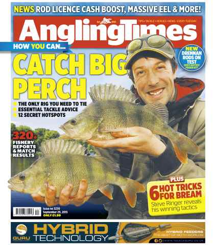 Angling Times issue 29th September 2015