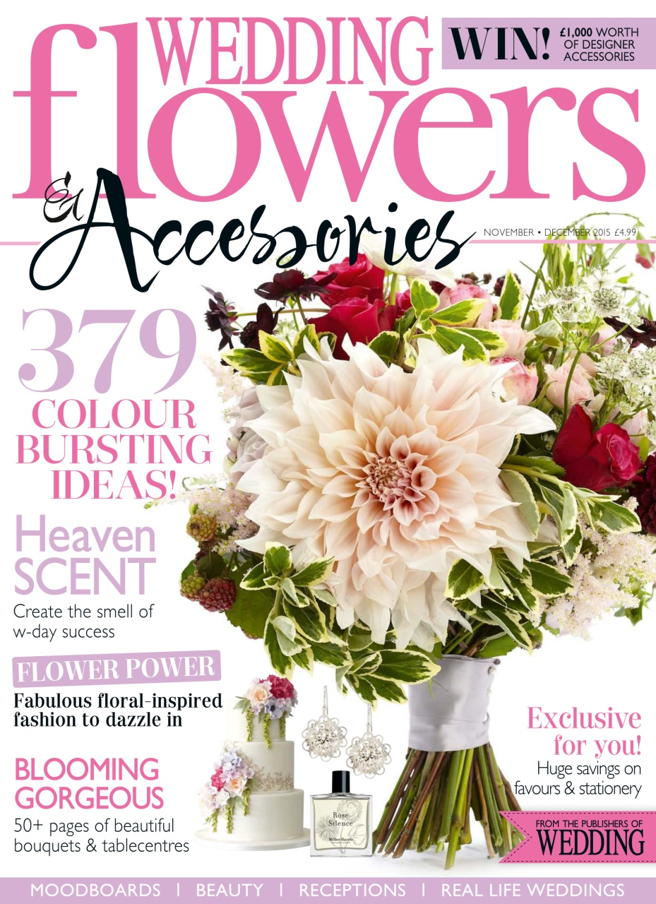 wedding flowers magazine nov dec 15. Black Bedroom Furniture Sets. Home Design Ideas