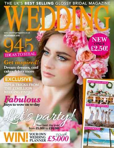 Wedding Magazine issue November 2015