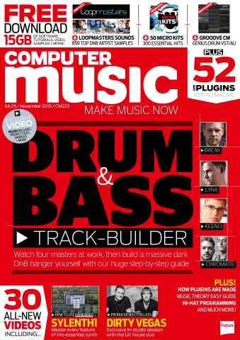 Computer Music issue November 2015