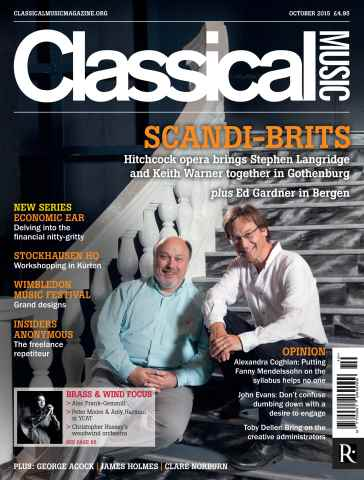 Classical Music issue October 2015