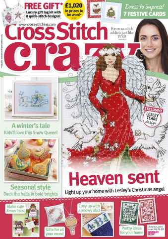 Cross Stitch Crazy issue Christmas 2015