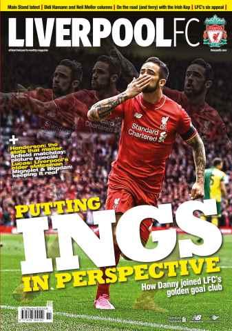 Liverpool FC Magazine issue Nov-15