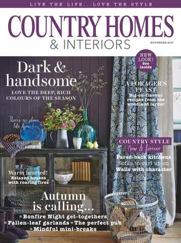 Country Homes & Interiors issue November 2015