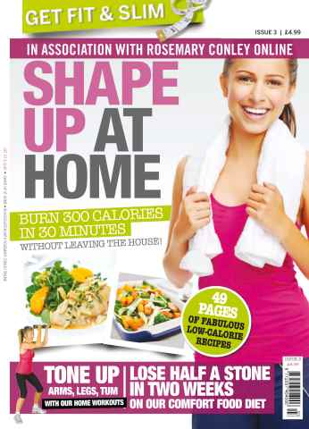 Get Slim Get Fit issue No. 3 Shape up at home