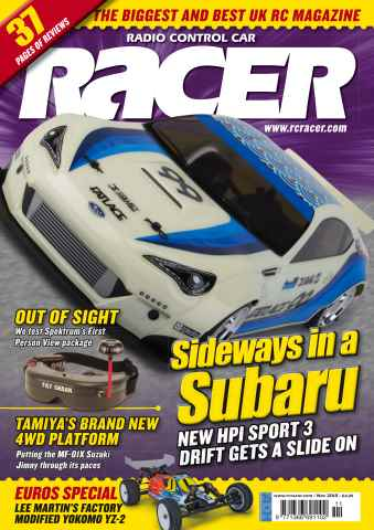 Radio Control Car Racer issue Nov 15