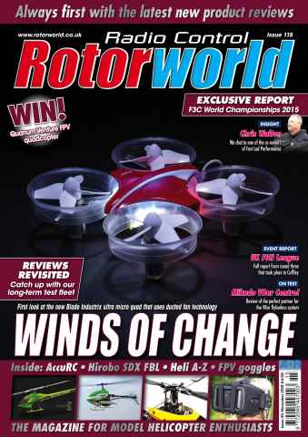 Radio Control Rotor World issue Nov 115