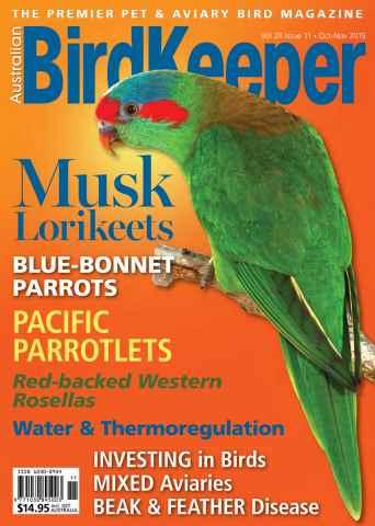 Australian Birdkeeper Magazine issue BirdKeeper Vol 28 Iss 11