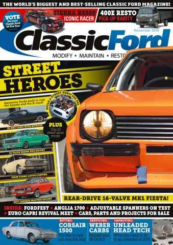 Classic Ford issue No. 231 Street Heroes
