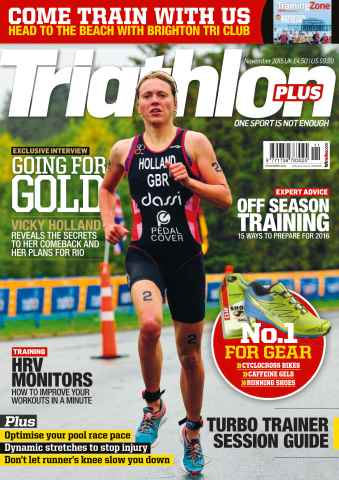 Triathlon Plus issue No. 86 Going for Gold
