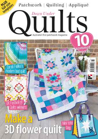 Down Under Quilts issue 173
