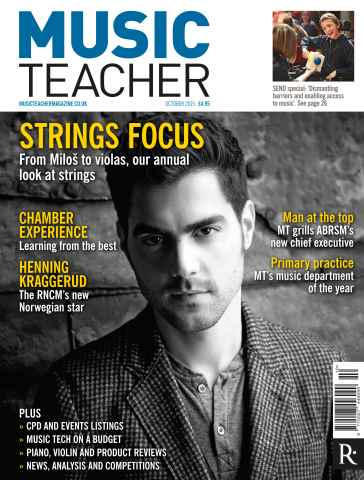 Music Teacher issue October 2015