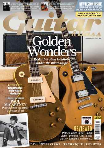 Guitar & Bass Magazine issue Nov-15
