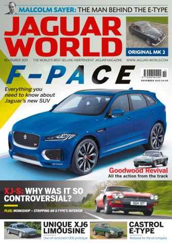 Jaguar World issue No. 164 F-Pace