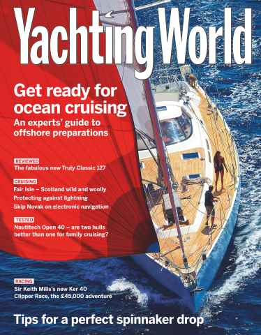 Yachting World issue November 2015
