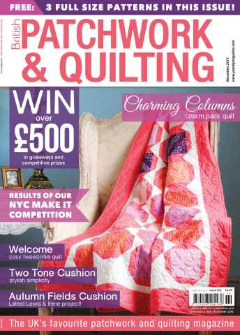 Patchwork and Quilting issue November 2015