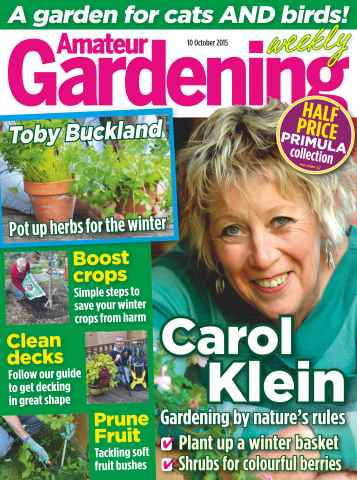 Amateur Gardening issue 10th October 2015