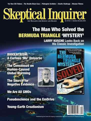 Skeptical Inquirer issue November December 2015