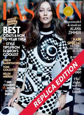 Fashion Magazine issue November 2015