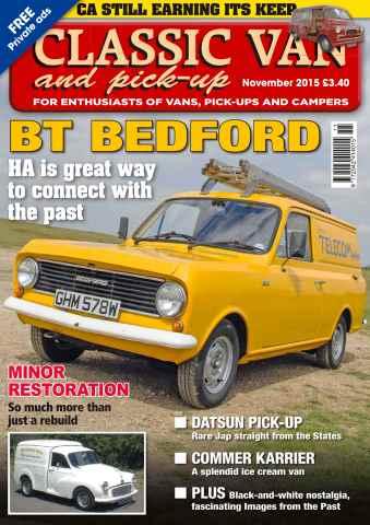 Classic Van & Pick-up issue Vol. 16 No. 1 BT Bedford