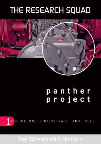 Modellers Reference Library issue Panther Project Project Vol 1
