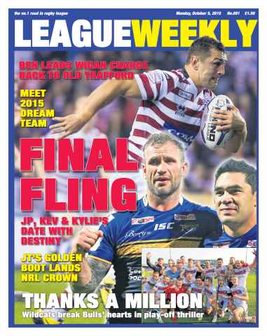 League Weekly issue 05 October 2015
