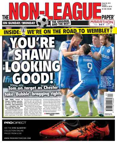 The Non-League Football Paper issue 4th October 2015
