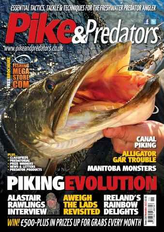 Pike & Predators issue Nov
