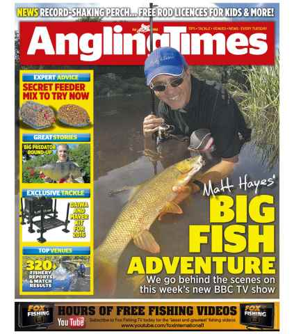 Angling Times issue 6th October 2015