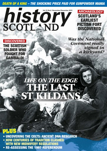 History Scotland issue November-December