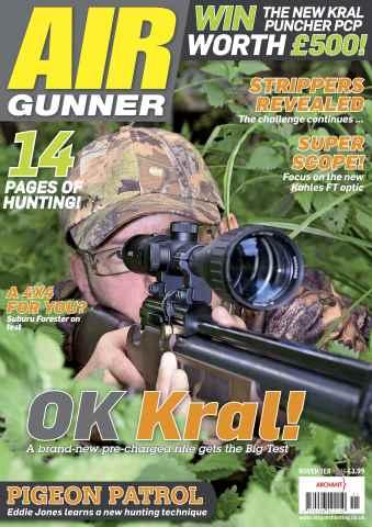 Airgunner issue November 2015
