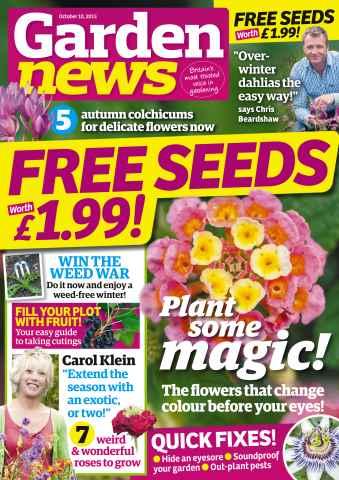 Garden News issue 10th October 2015
