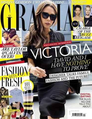 Grazia issue 12th October 2015