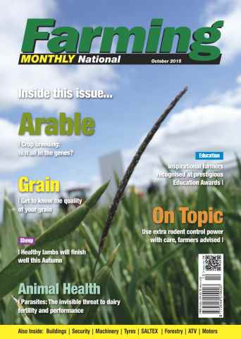 Farming Monthly issue October 2015