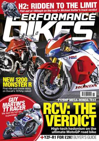 Performance Bikes issue November 2015